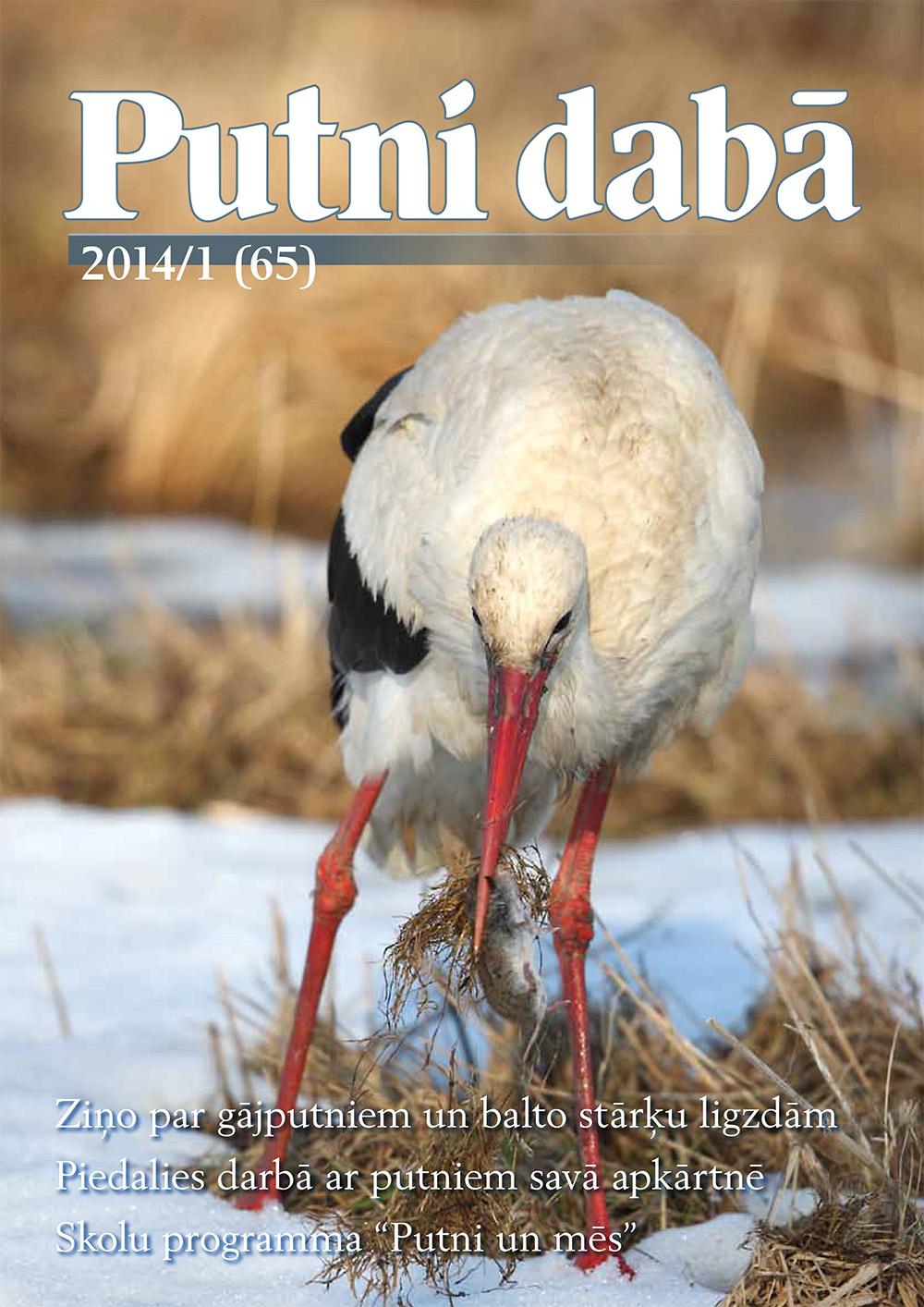 Putni dabā 65 (2014/1)