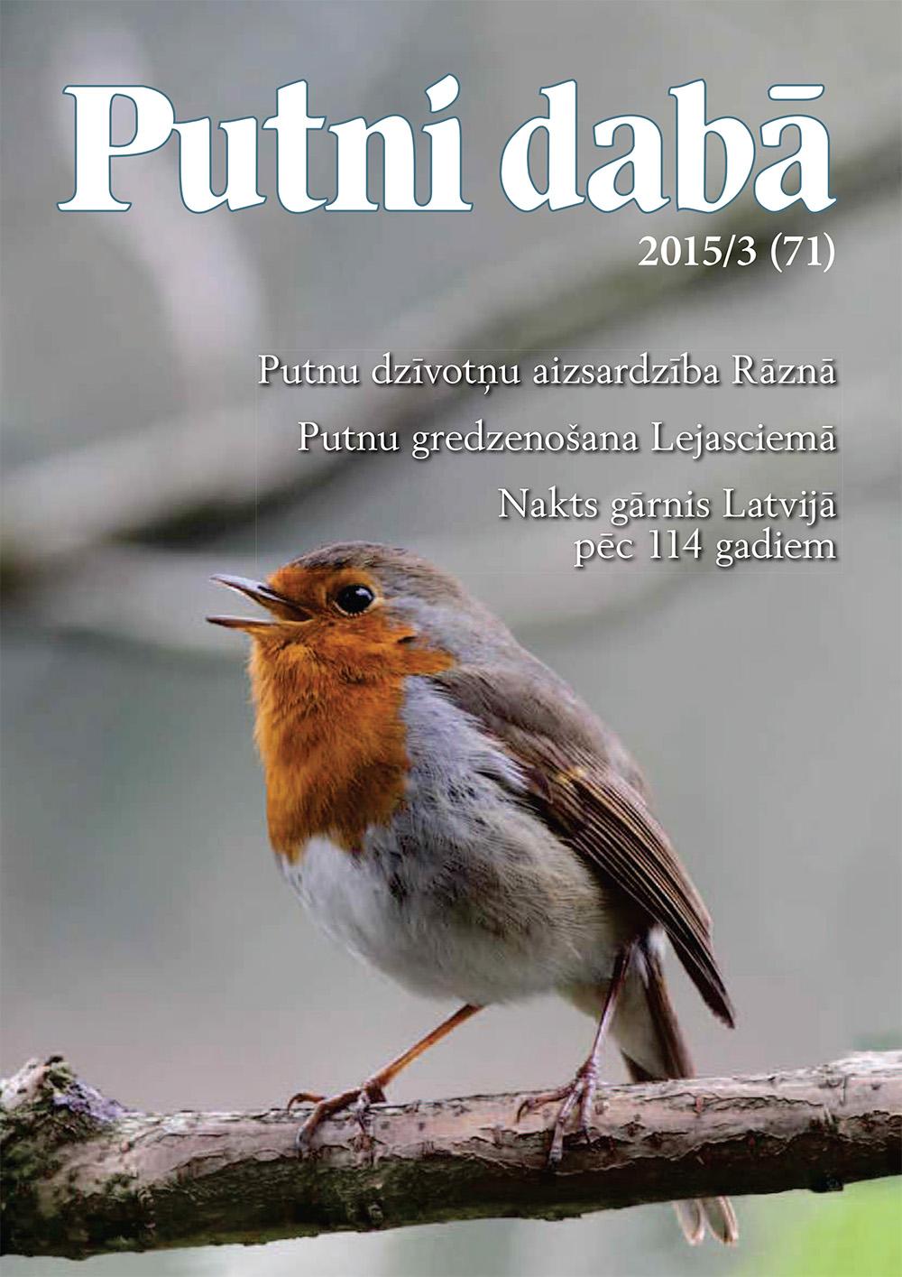 Putni dabā 71