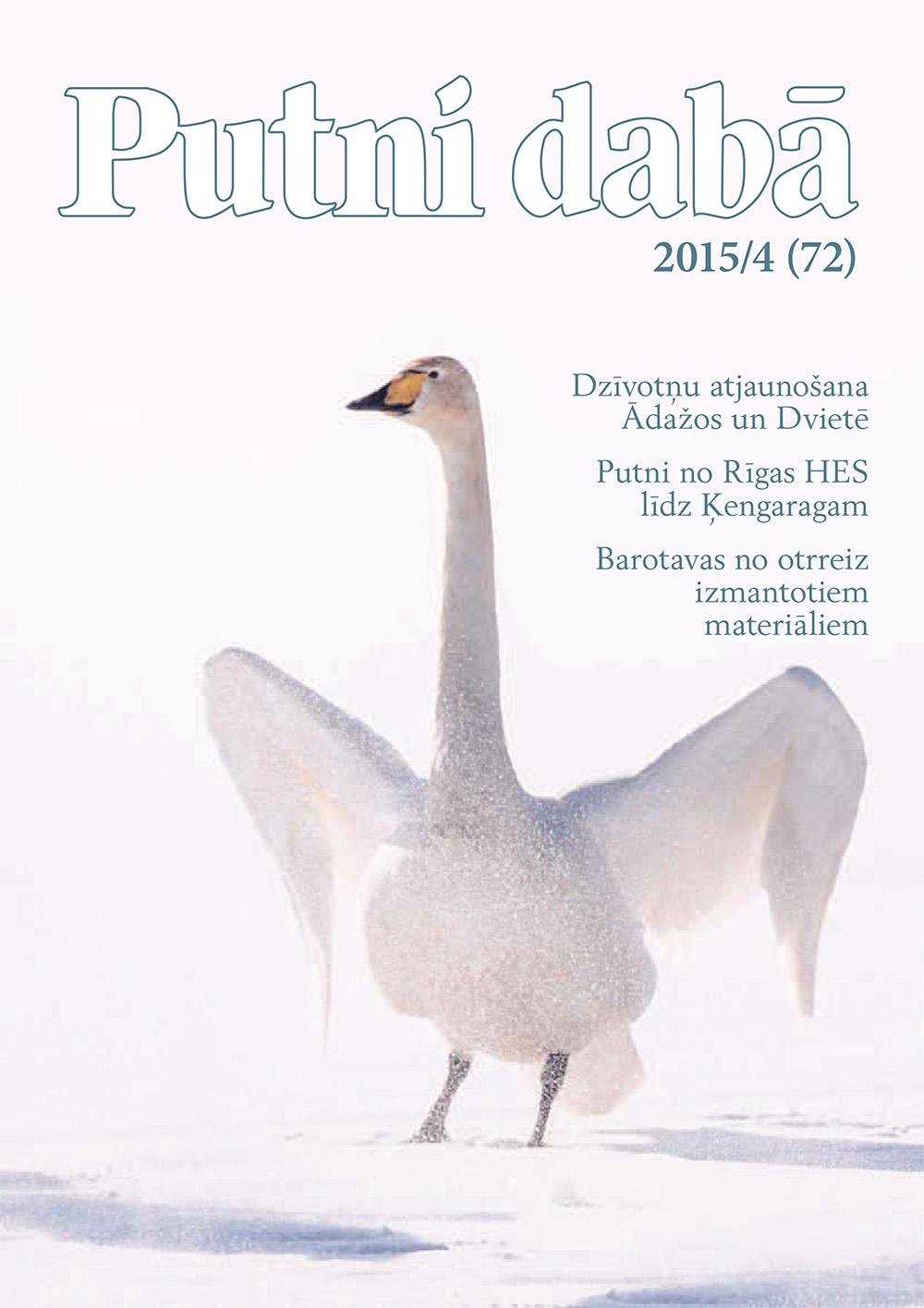 Putni dabā 72 (2015/4)